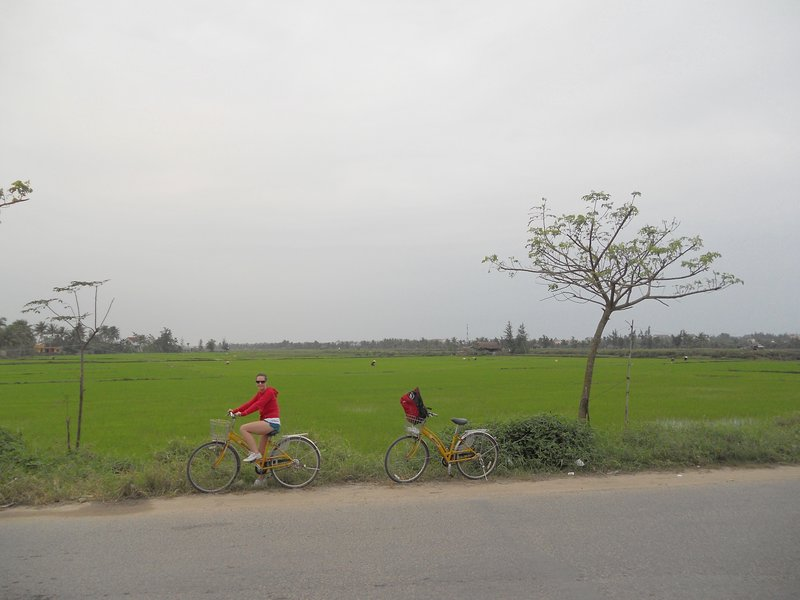 Ride to Cua Dai Beach