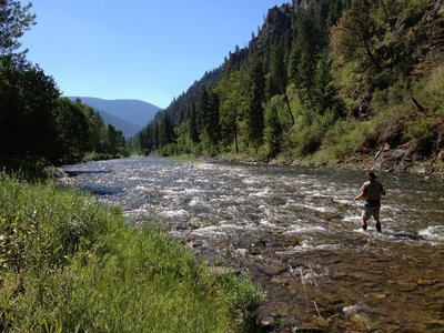 On Rock Creek