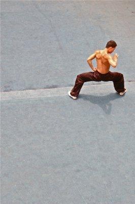 Kung Fu exhibition