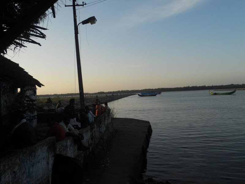 View at the Backwaters