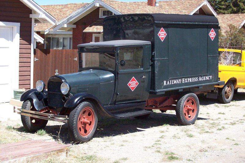 1929 Model AA Ford Railway Express Agency Truck