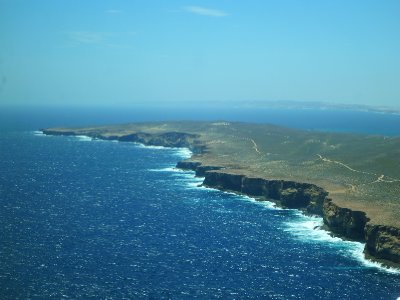 Steep Point most Western part of Australia's mainland