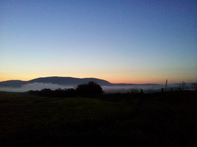 Dawn in Dumfries and Galloway