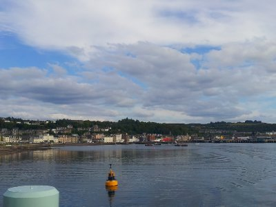 Leaving Oban
