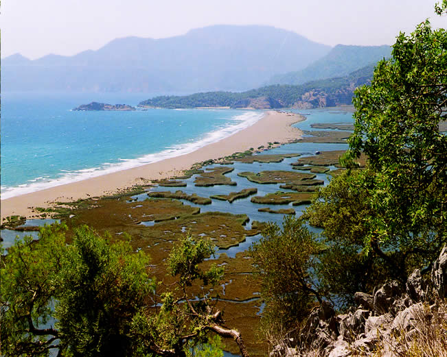 Dalyan Iztuzu Beach.