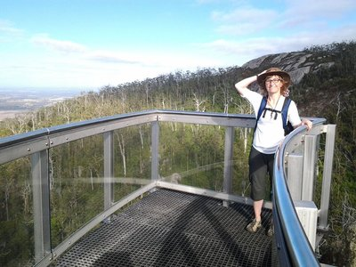 On the Skywalk, Porongurup