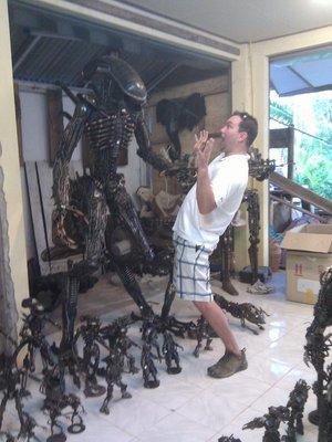 shayne vs the alien