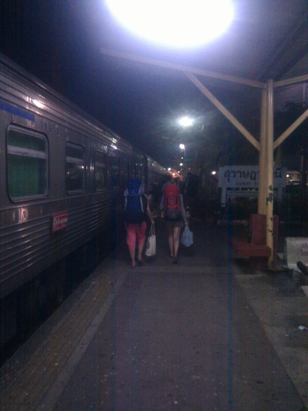 hurry the train...... get on