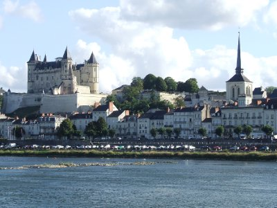 Saumur from the Loire