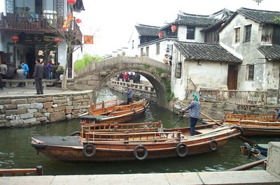 The canals of Zhouzang