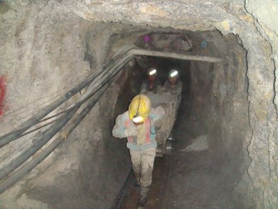 Working miners