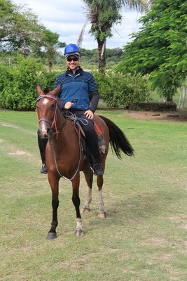 G horse riding!!