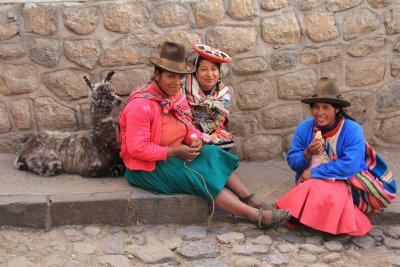 Cusco residents