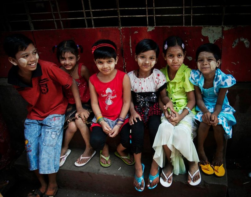 Ethnic Tamil Children in Rangoon