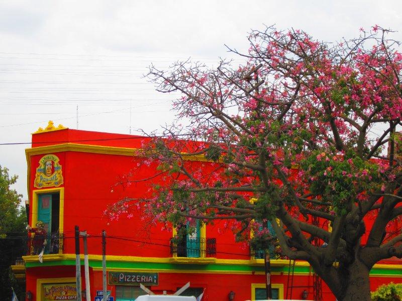 in Caminito, La Boca