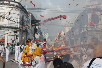 The Vegetarian Festival Parade