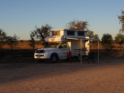 Our first night in our new van, what a beauty!