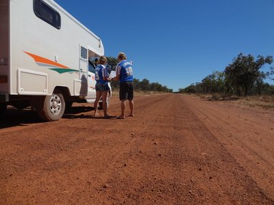 3 years 10 t-shirts in the Australian bush!