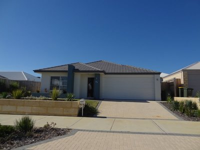 Jim and Kellie's house in Yanchep