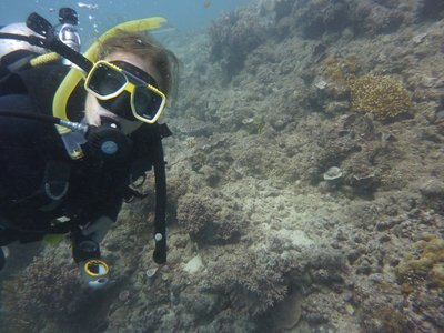 Bethany in the Great Barrier Reef