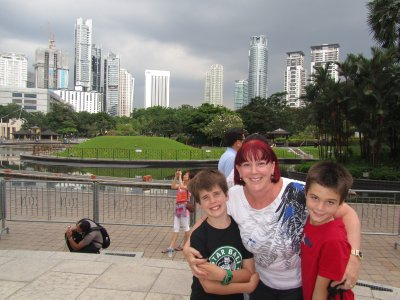 Ethan, Nanny and Tom in KL