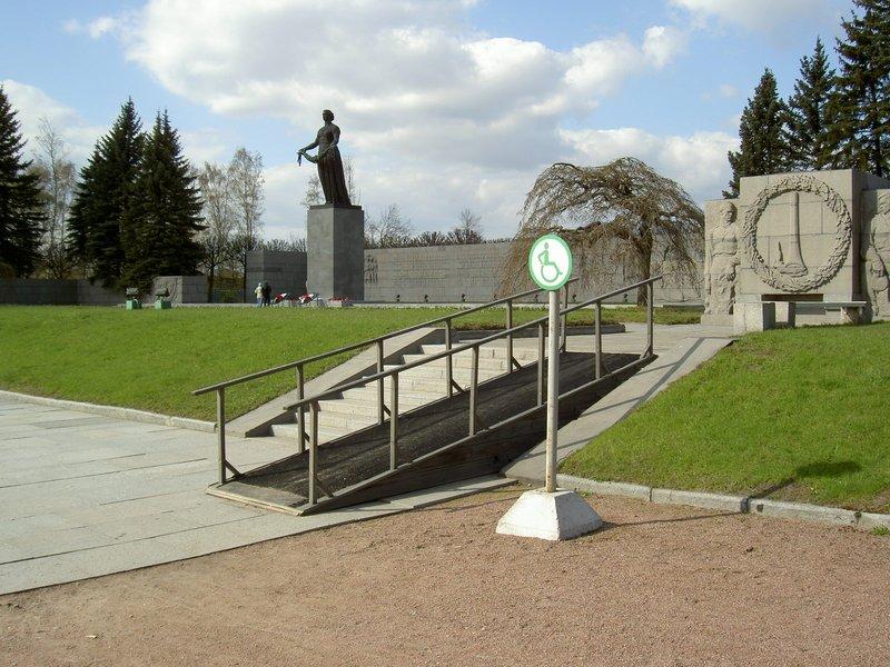 St-Pete, Piskaryovskoe Cemetery (access ramp)