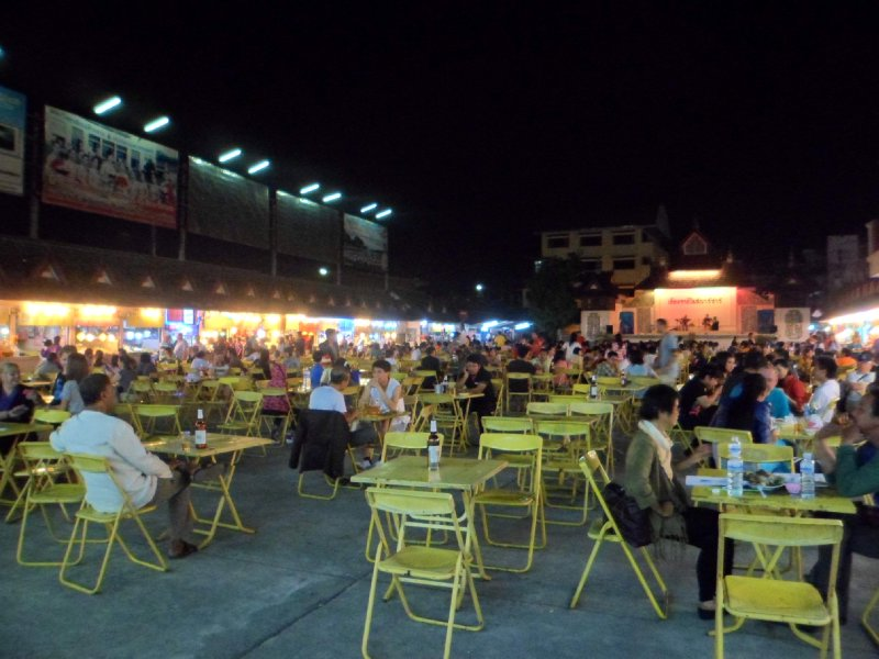 Chiang Rai food court