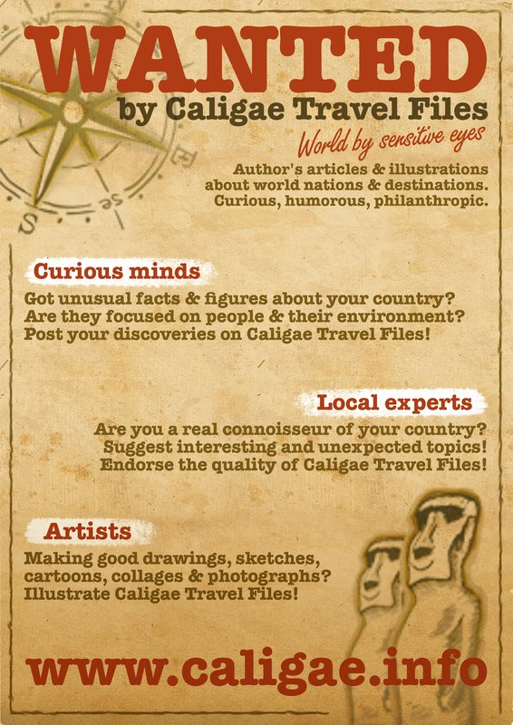 WANTED by Caligae Travel Files poster