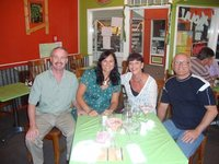 The four Travellers to Italy