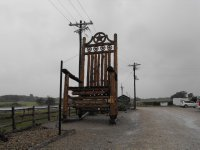 World's Largest Rocking Chair
