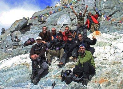 Top of Cho La Pass