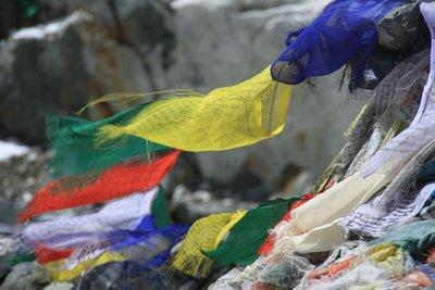 Prayer Flags of Cho La