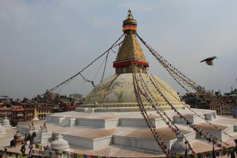 Stupa at Boudhanath