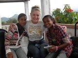 Noni, friend and I at Maubisse