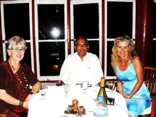 Dinner with President Ramos Horta