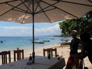 Lunch at the Beach at Baucau