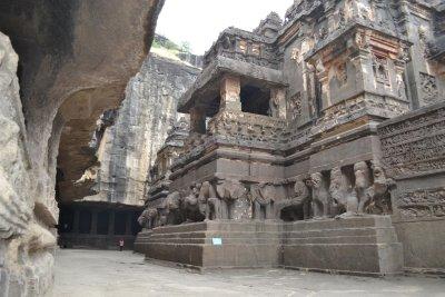 Hindu cave temple complex Ellora