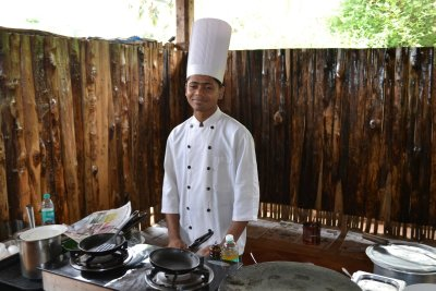 Cook at Casa De Goa