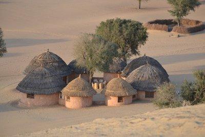 Khimsar dunes village