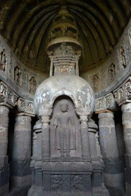 Ajanata Caves interior
