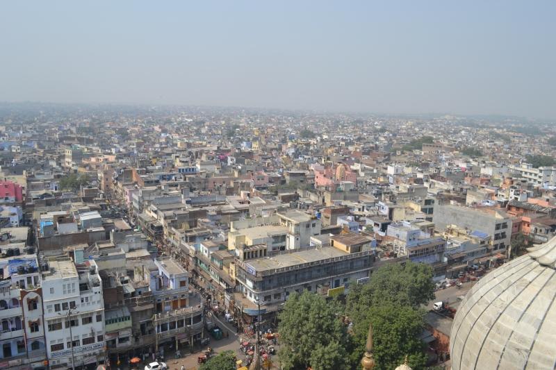 View from Jama Masjid Minaret