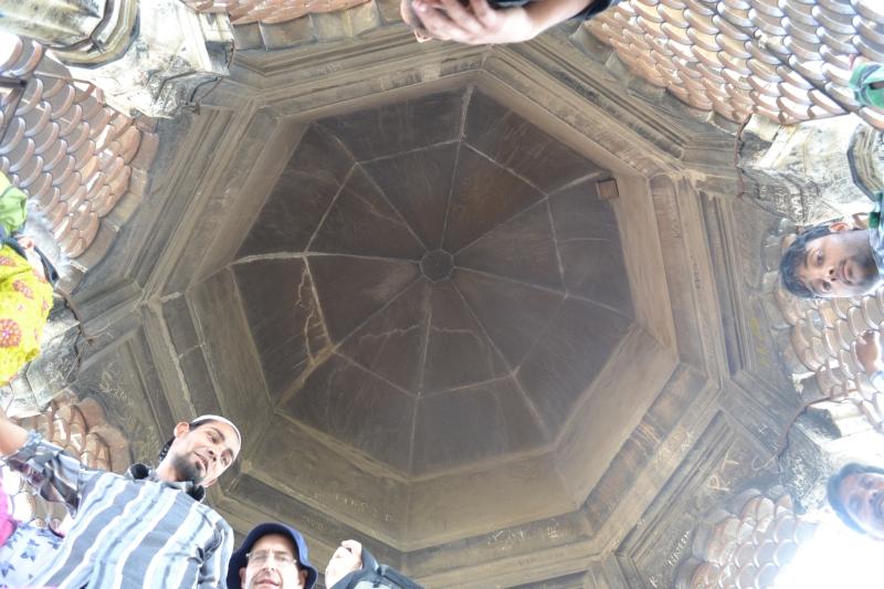 Inside the Jama Masjid Minaret