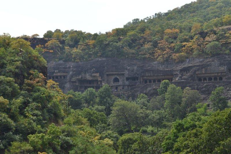 Ajanta Caves Valley