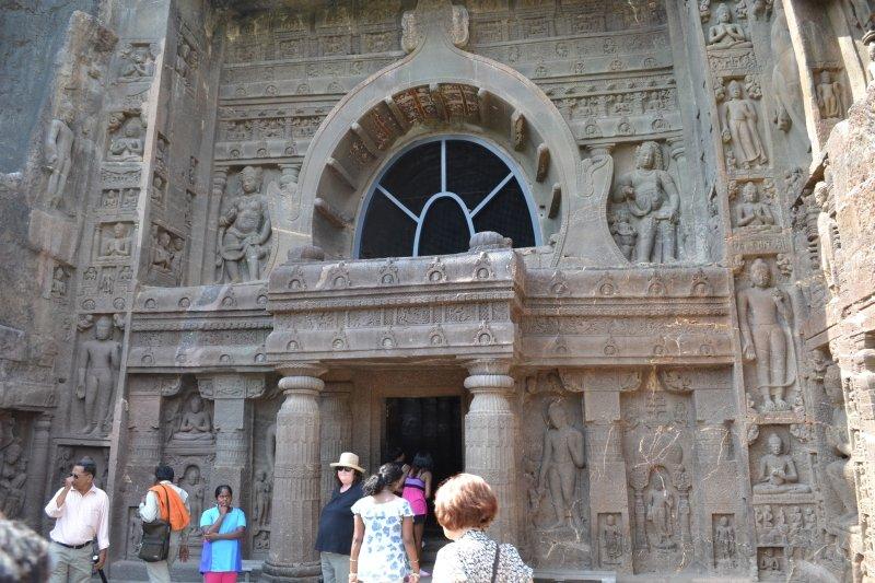 Ajanta Caves temple