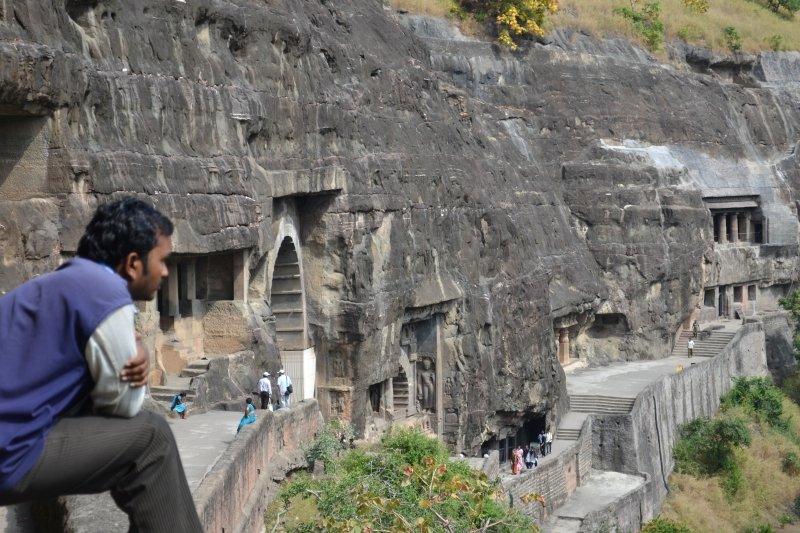 Ajanta Caves temple complex
