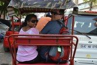 Cycle Rickshaw ride through old Delhi