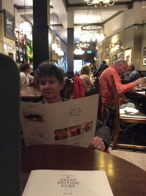 Dinner at The Prince Of Wales Pub in Kensington