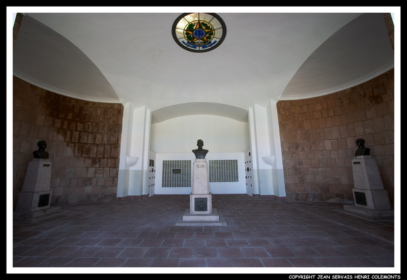 Inside Panteon of the Heros