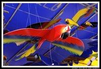 brazilian craftsmanship birds of wood
