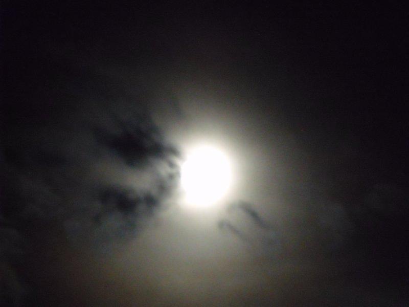 Moon at night 2